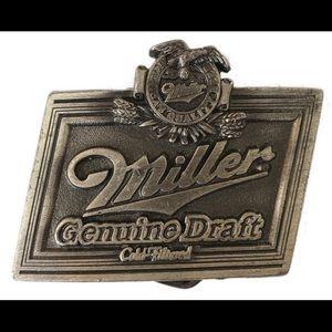 Other - Miller Genuine Draft  belt buckle